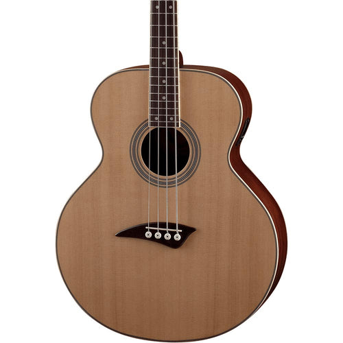 Dean Guitars Eabcl Lefty Acoustic-Electric Bass - Natural