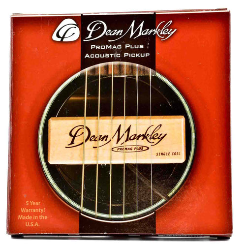 Dean Markley Pro Mag Plus Single Coil Sound Hole Pickup
