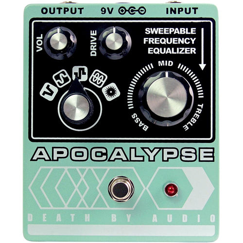 Death By Audio Apocalypse Fuzz Pedal