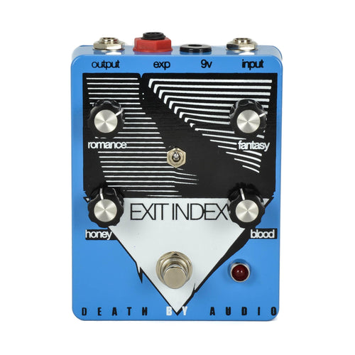 Death By Audio Exit Index Analog Warped Tremolo/Tube-Style Distortion