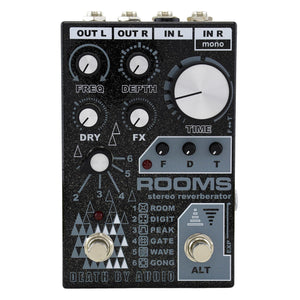 Death By Audio ROOMS Stereo Reverb Pedal