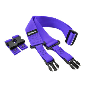 "Dimarzio 2"" Purple Cliplock Nylon Strap"