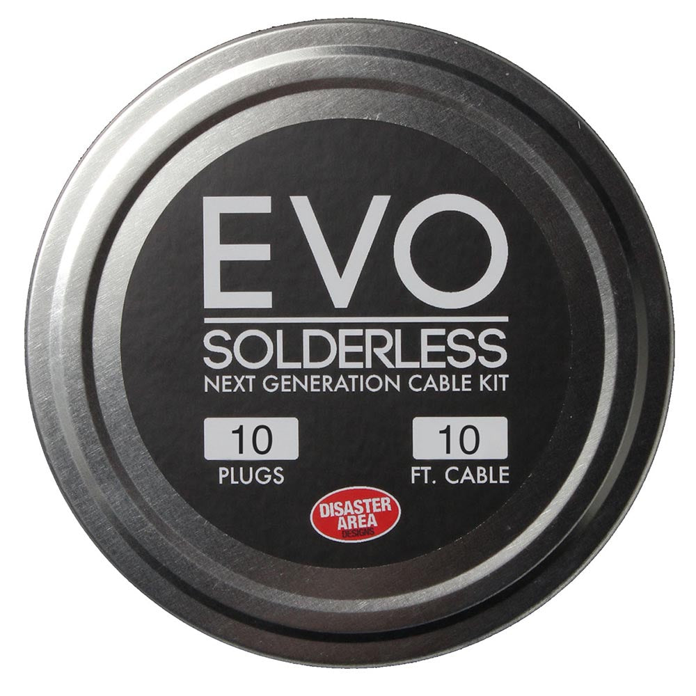 Disaster Area Evo 1010 Solderless Kit - 10 Evo Plugs And 10 Ft. Of Wire