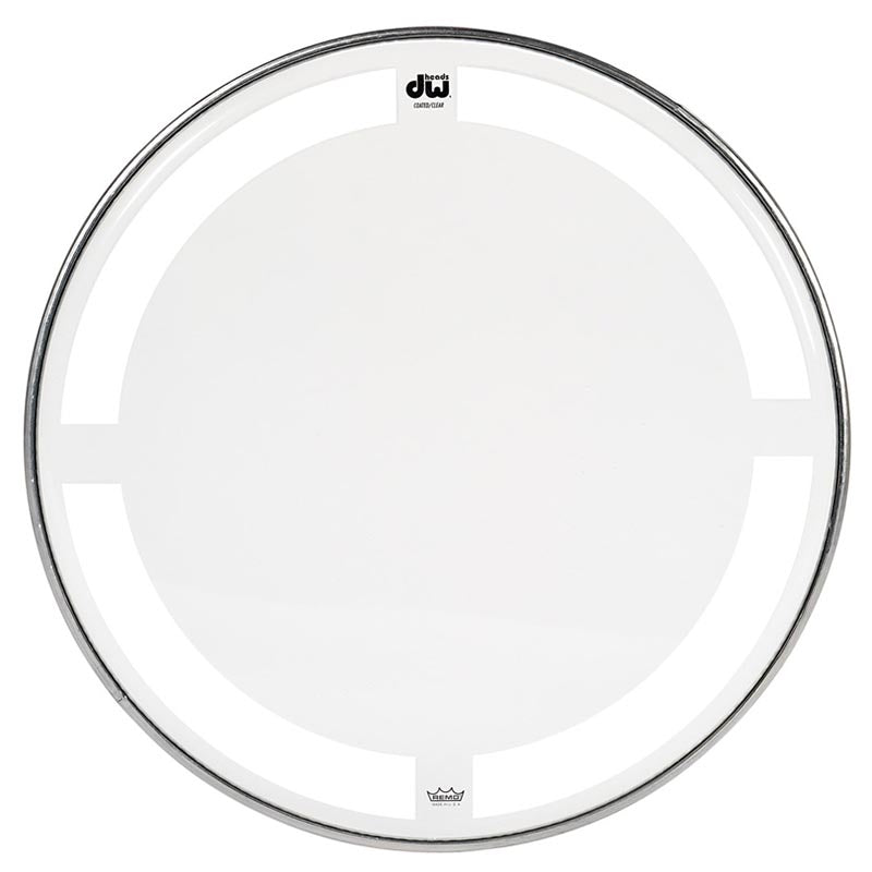"Drum Workshop 8"" Coated Clear Drum Head"