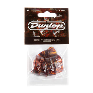 Dunlop Plastic XL Thumbpick Shell 4 Pack