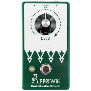 Earthquaker Arrows V2 Preamp Booster