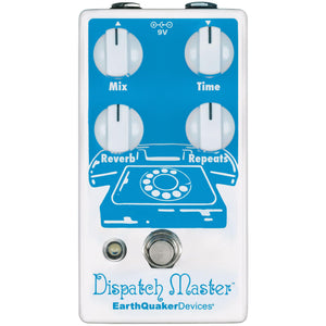 Earthquaker Dispatch Master V3 Digital Delay & Reverb Pedal