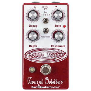 Earthquaker Grand Orbiter V3 Phaser and Vibrato Pedal