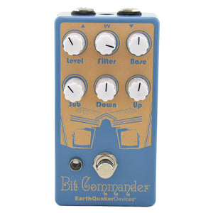 Earthquaker Limited Edition Bit Commander Octave Synth Pedal