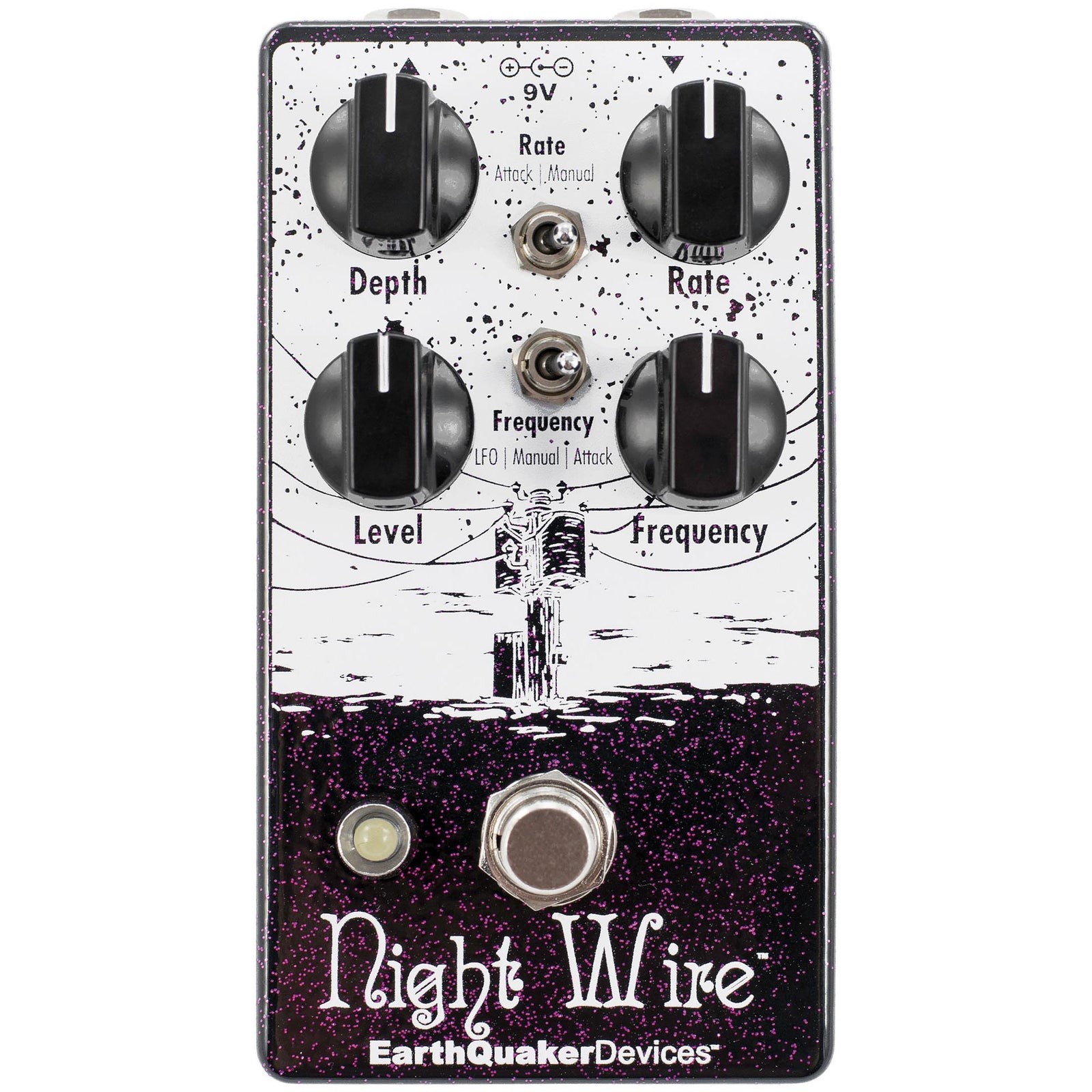 Earthquaker Night Wire V2 Harmonic Tremolo