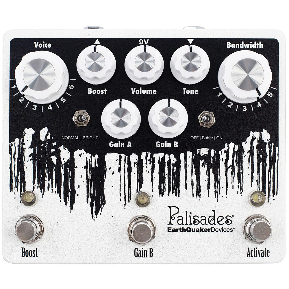 Earthquaker Palisades V2 Mega Ultimate Overdrive With Flexi Switch