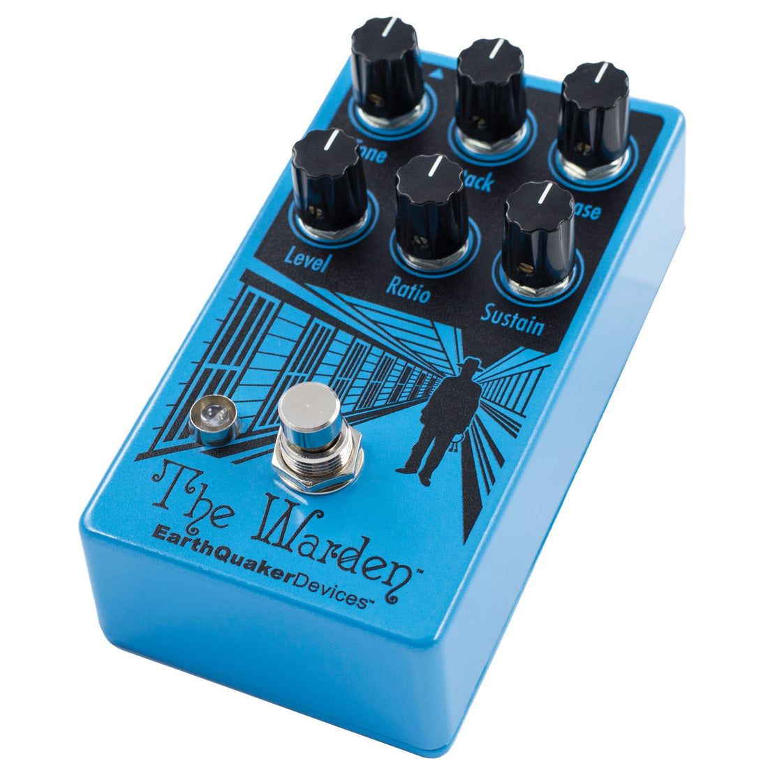 Earthquaker The Warden V2 Compressor Pedal