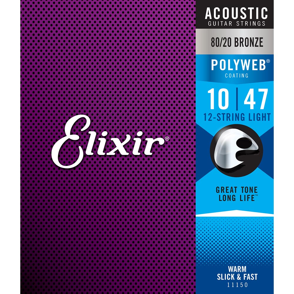 Elixir Acoustic 80/20 Bronze 12-String