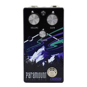 Emerson Custom Paramount MK2 Overdrive Pedal