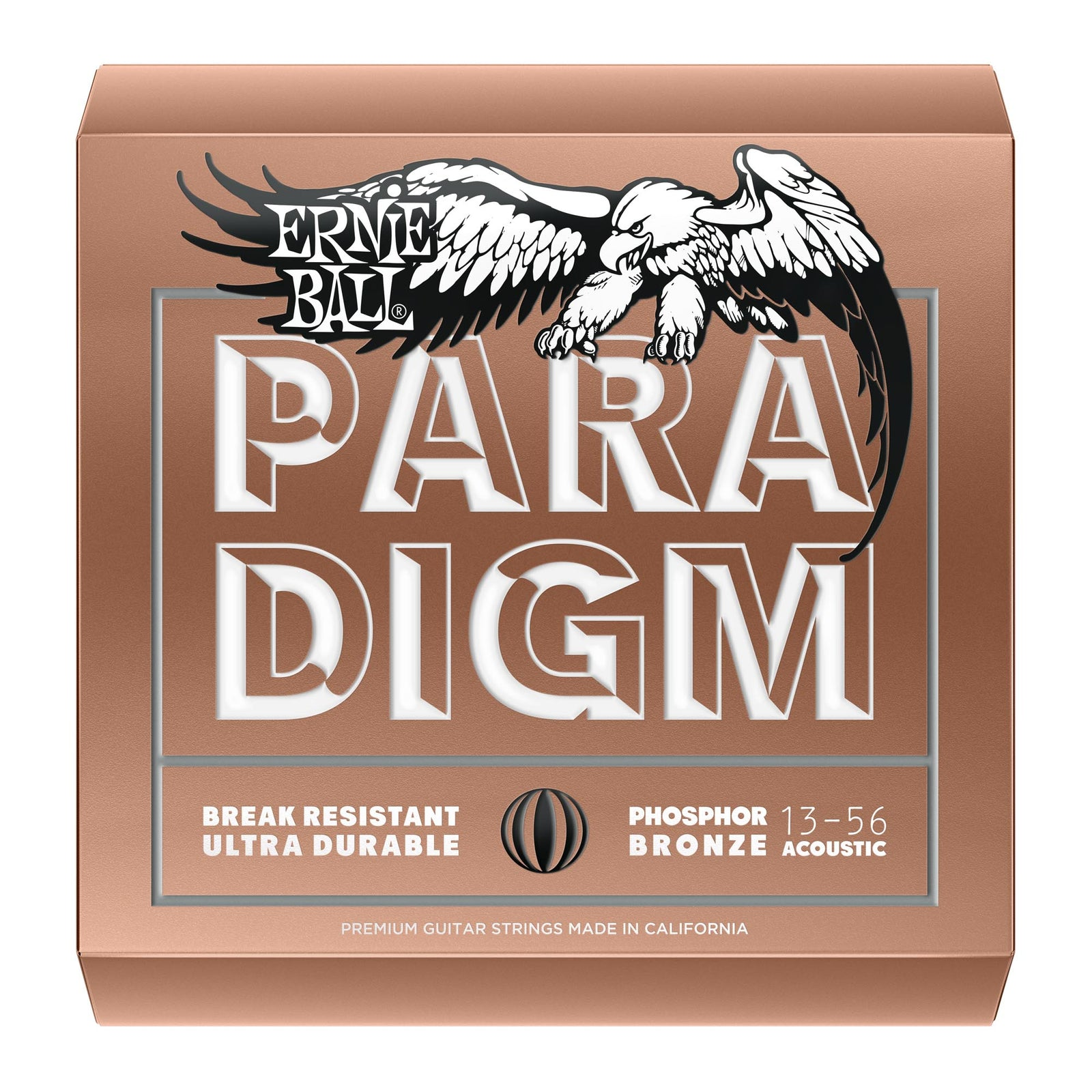 Ernie Ball 13-56 Paradigm Medium Phosphor Bronze Acoustic Strings