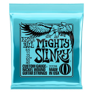 Ernie Ball 8.5-40 Mighty Slinky Nickel Wound Electric Guitar Strings