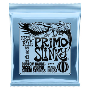 Ernie Ball 9.5-44 Primo Slinky Nickel Wound Electric Guitar Strings