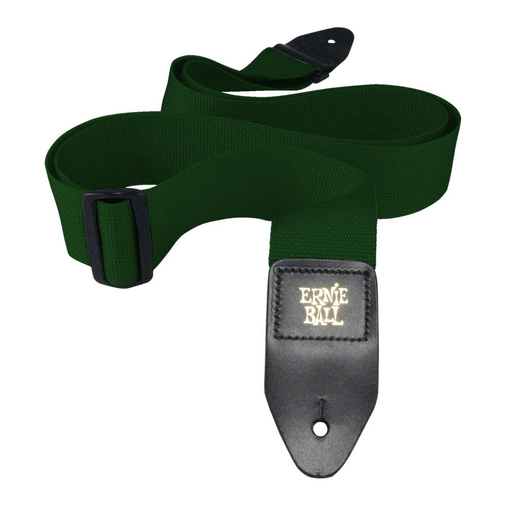 Ernie Ball Polypro Strap - Forest Green