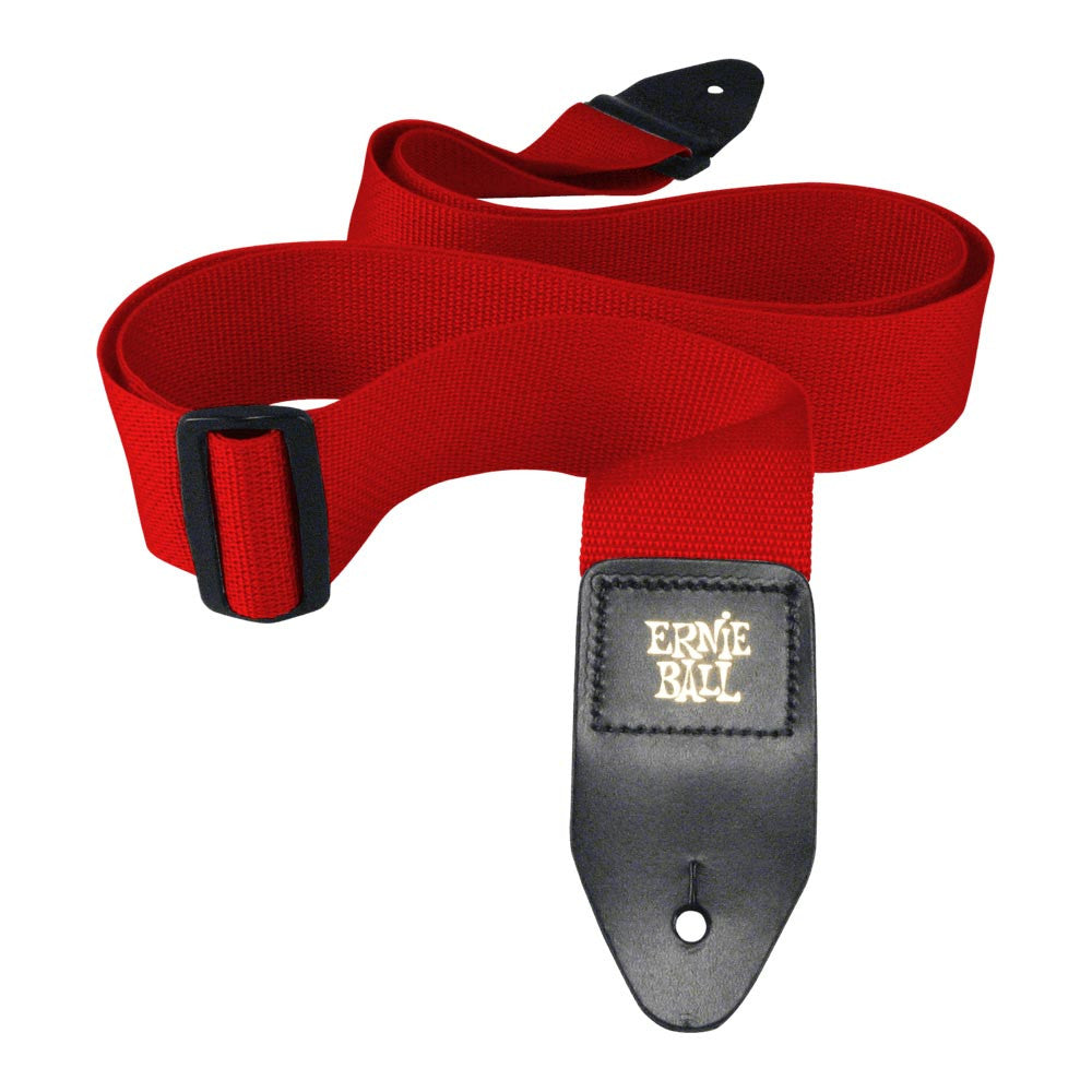 Ernie Ball Polypro Strap - Red