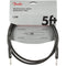 Fender 5' Professional Series Instrument Cables, Straight/Straight, Black