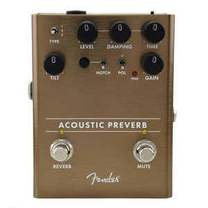 Fender Acoustic Preverb Preamp/Reverb Pedal