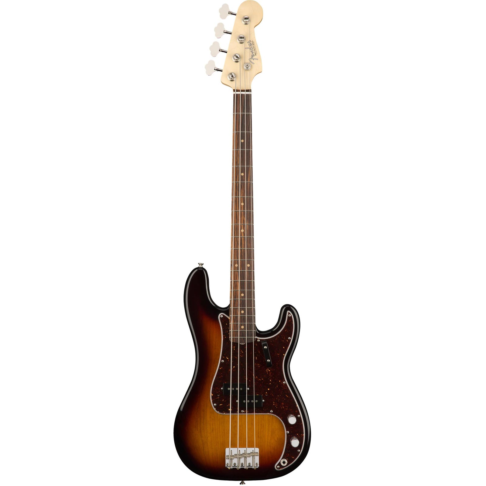 Fender American Original '60S Precision Bass - Rosewood Fingerboard - 3-Color Sunburst
