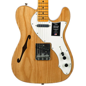 Fender American Original 60s Telecaster Thinline Maple, Aged Natural