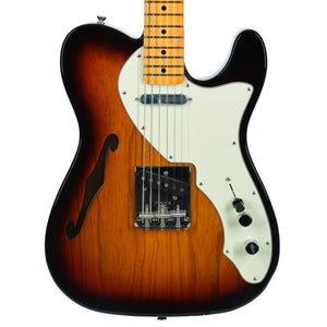 Fender American Original 60s Telecaster Thinline Maple Fingerboard 3 Color Sunburst