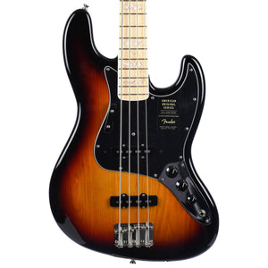 Fender American Original '70s Jazz Bass Maple Fingerboard 3 Color Sunburst