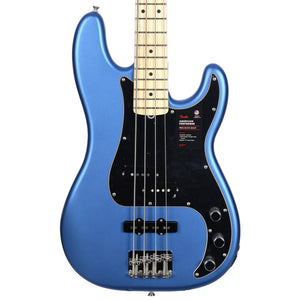 Fender American Performer Precision Bass, Maple Fingerboard, Satin Lake Placid Blue