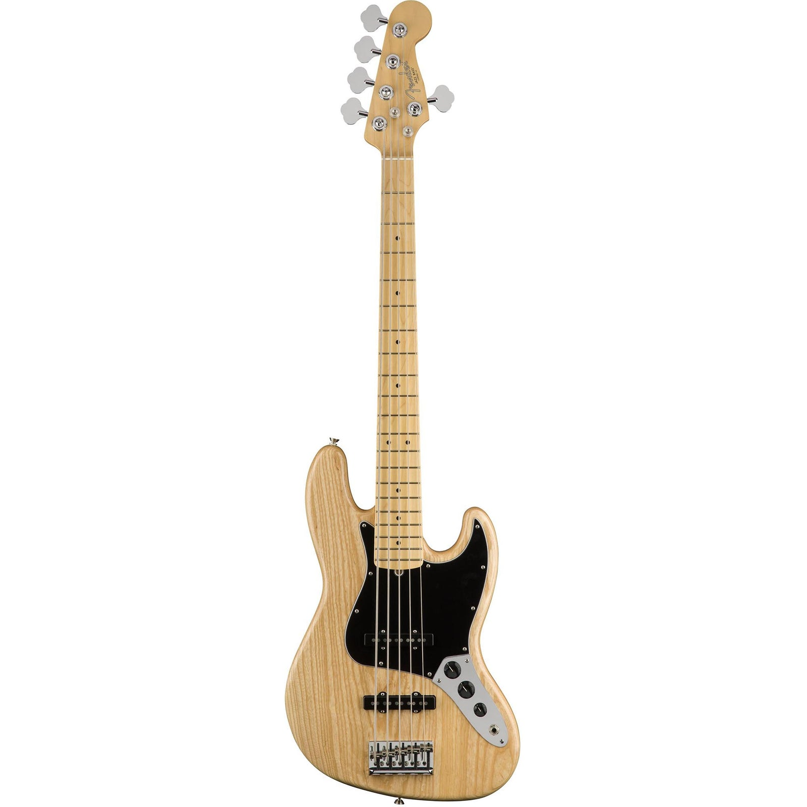 Fender American Pro Jazz Bass V - Maple Fingerboard - Natural