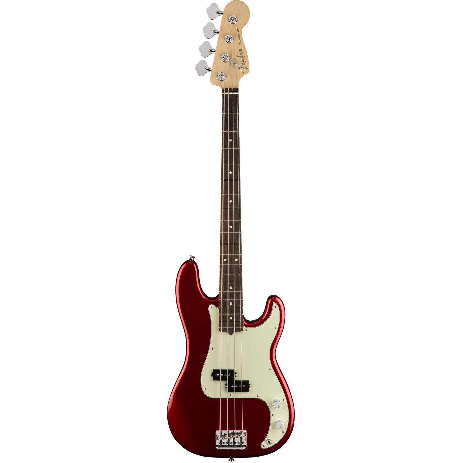 Fender American Pro Precision Bass - Rosewood Fingerboard - Candy Apple