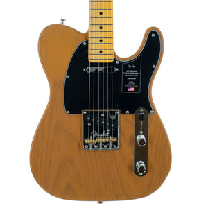 Fender American Professional II Telecaster Maple, Butterscotch Blonde
