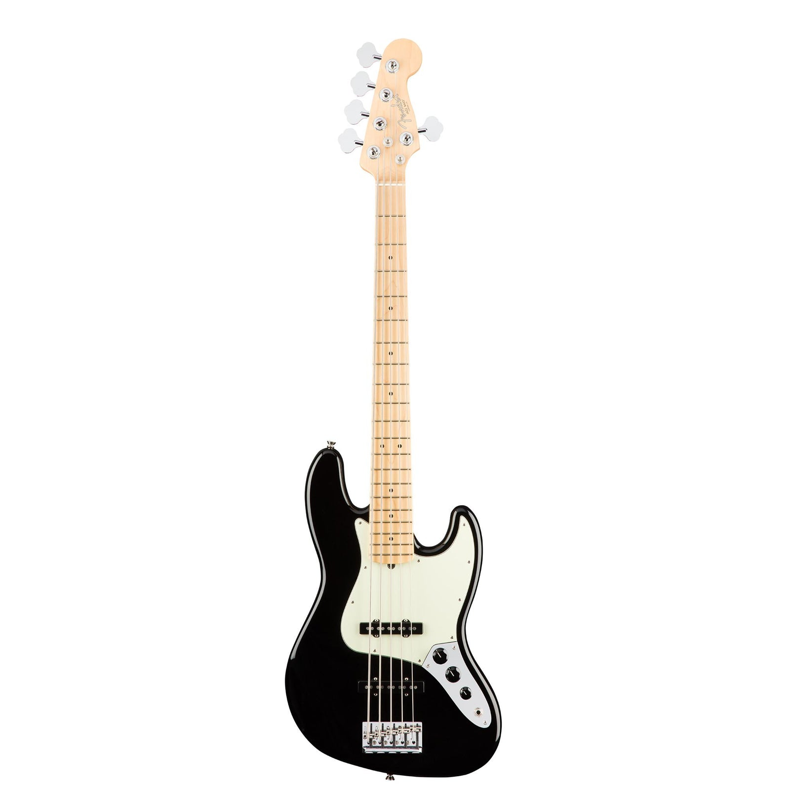 Fender American Professional Jazz Bass V - Black - Maple