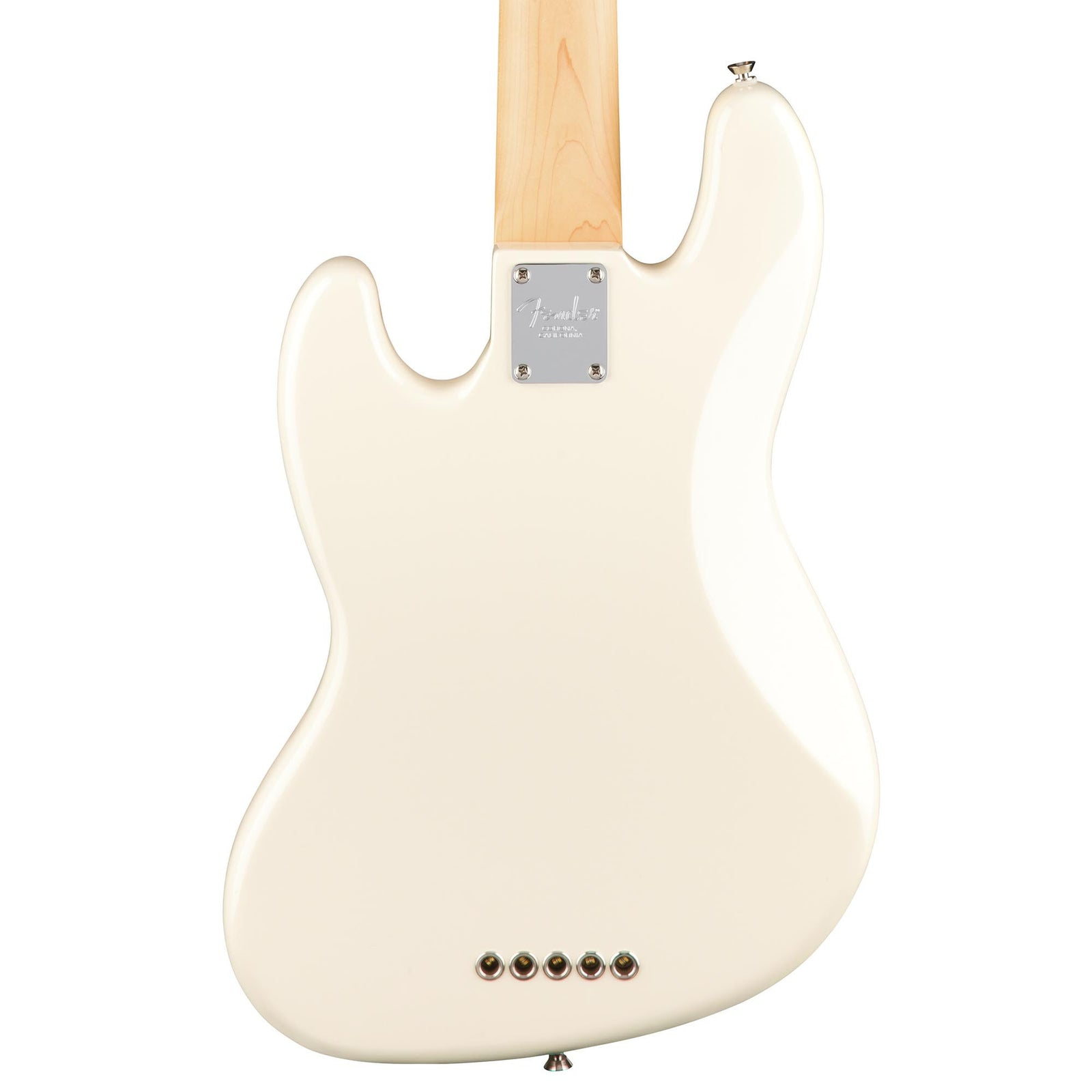Fender American Professional Jazz Bass V - Olympic White - Rosewood