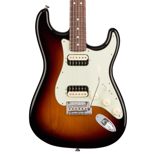 Fender American Professional Stratocaster HH Shawbucker - 3-Color Sunburst - Rosewood
