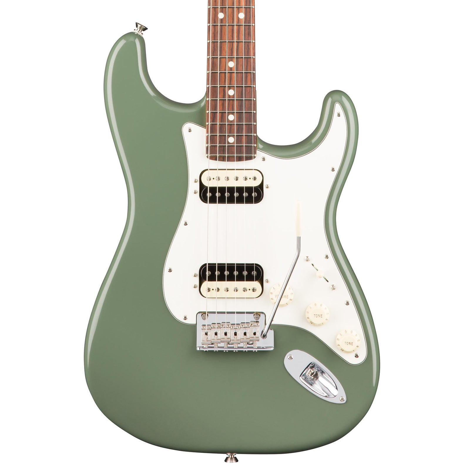Fender American Professional Stratocaster HH Shawbucker - Antique Olive - Rosewood