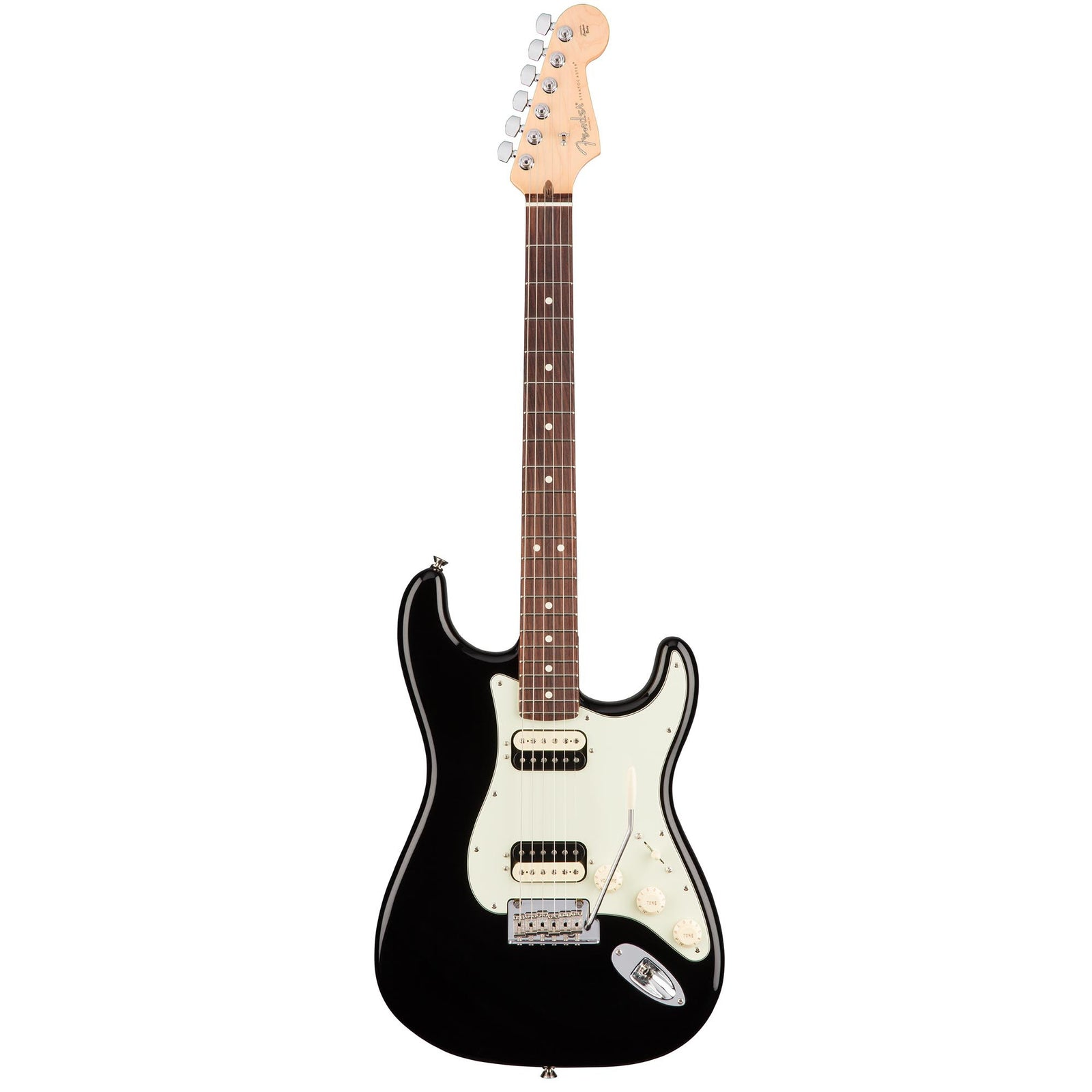Fender American Professional Stratocaster HH Shawbucker - Black - Rosewood