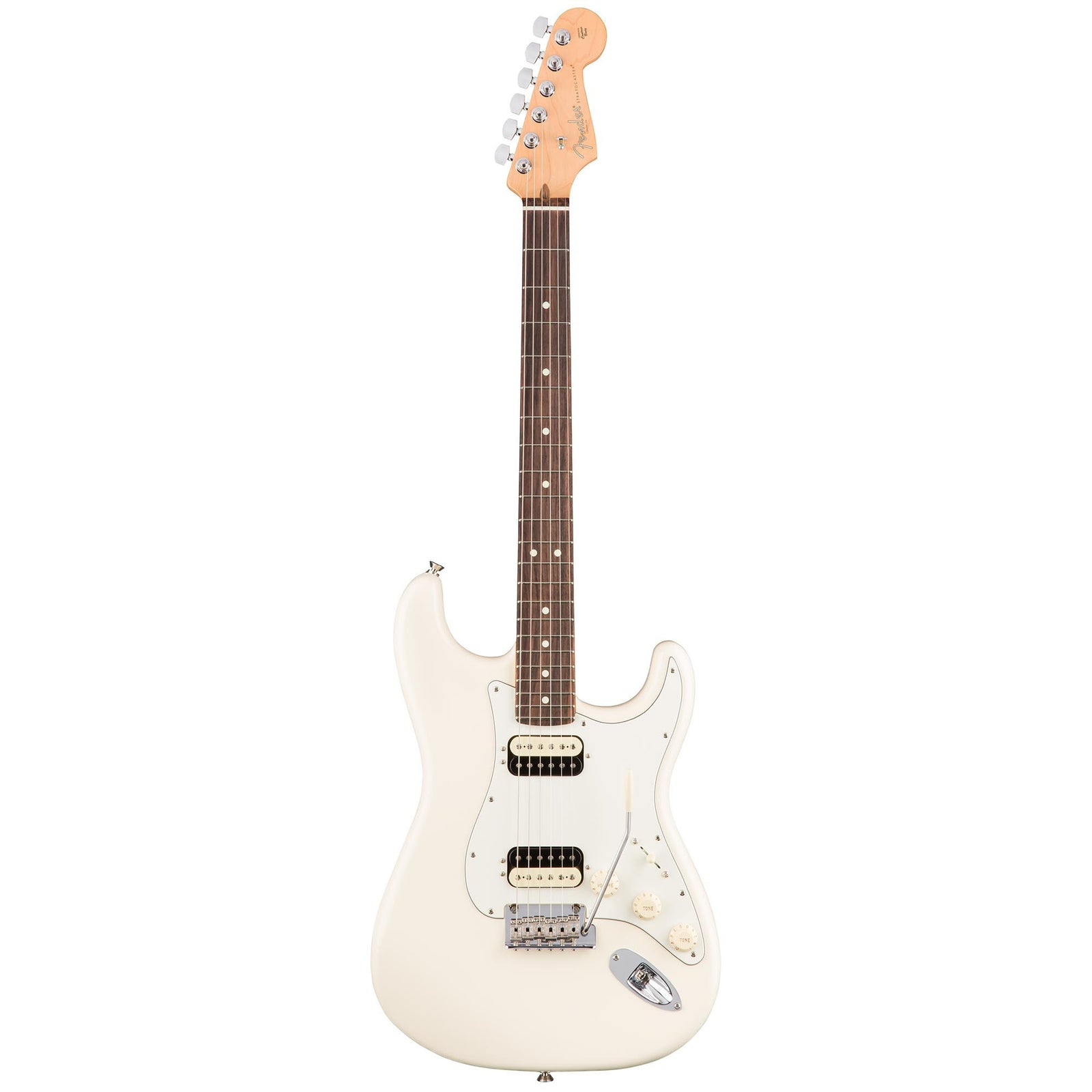 Fender American Professional Stratocaster HH Shawbucker - Olympic White - Rosewood