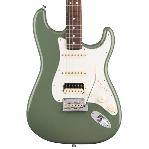 Fender American Professional Stratocaster HSS Shawbucker - Antique Olive - Rosewood