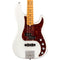 Fender American Ultra Precision Bass Maple Fingerboard Arctic Pearl