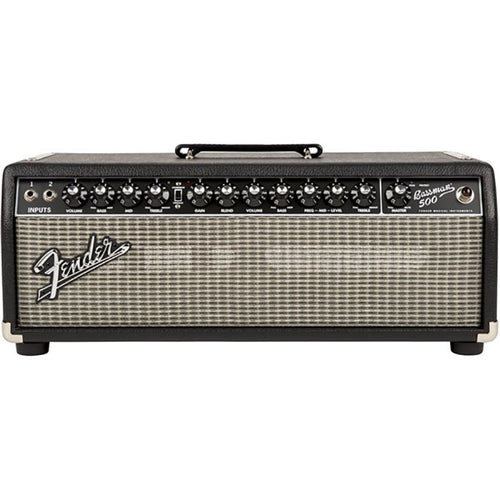 Fender Bassman 500 Head - 120V - Black