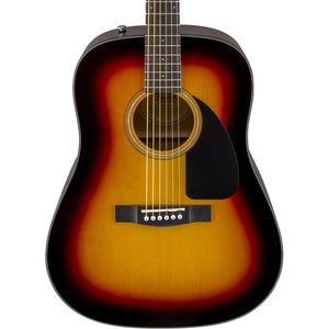Fender CD-60 Dreadnought V3 With Case Walnut Fingerboard Sunburst