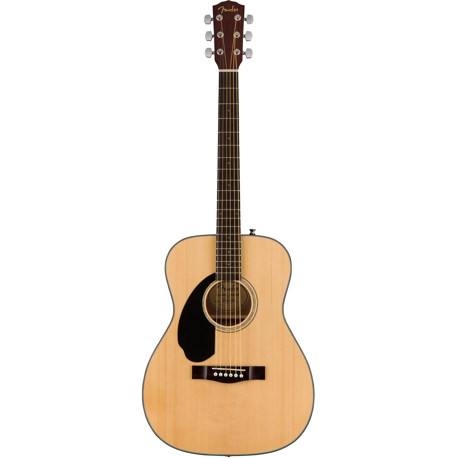Fender CD-60S Left-Handed Acoustic Guitar with Electronics - Natural