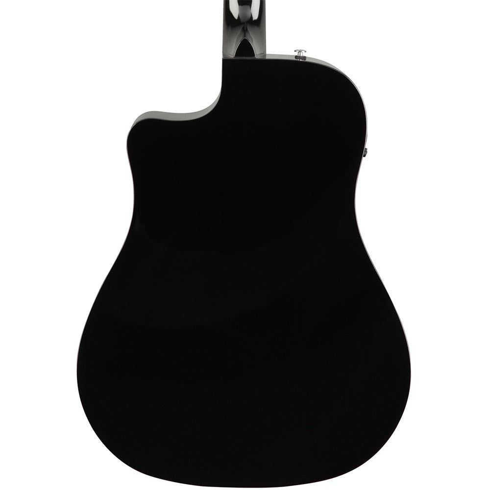 Fender CD-60SCE Acoustic - Black