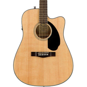 Fender CD-60SCE Acoustic Guitar with Electronics - Natural