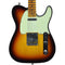 Fender Custom Shop 2019 Custom Postmodern Telecaster Maple Journeyman Relic Chocolate 3 Color Sunburst