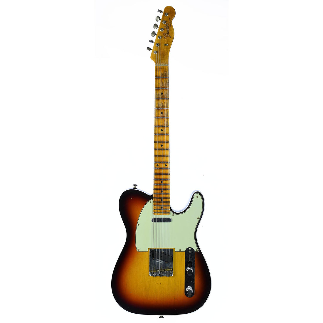 Fender Custom 2019 Custom Postmodern Telecaster Maple Journeyman Relic Chocolate 3 Color Sunburst