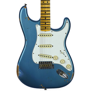 Fender Custom NAMM Limited Edition Custom '65 Stratocaster Maple Neck Relic Faded/Aged Lake Placid Blue