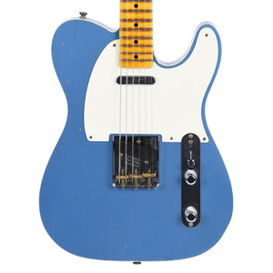 Fender Custom Shop Fat '50s Telecaster Custom Journeyman Relic Faded Aged, Lake Placid Blue